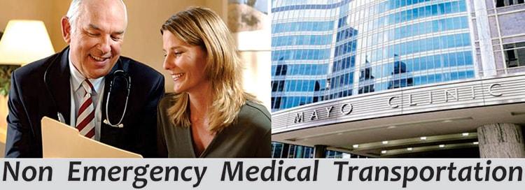 Minneapolis International Airport Service to Mayo Clinic